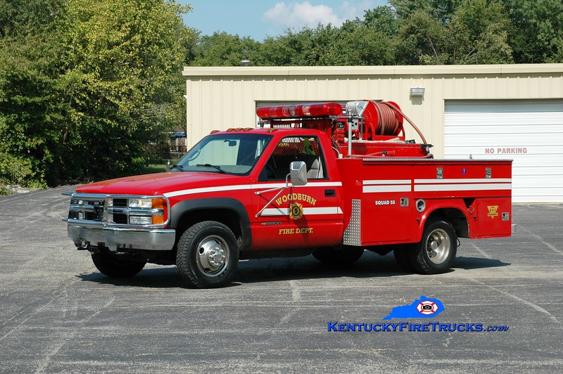 <center> Woodburn  Squad 55 <br> 2000 Chevy 3500/Stewarts 250/350 <br> Greg Stapleton photo </center>
