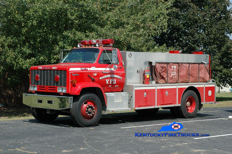 <center> Woodburn  Tanker 51 <br> 1993 GMC TopKick/Wimpee's Welding 450/1800 <br> Greg Stapleton photo </center>