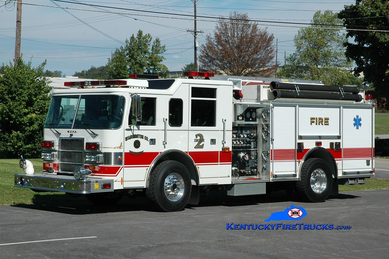 <center> Washington County  Engine 2  <br> x-Stone Harbor, NJ <br> 2000 Pierce Dash 1500/1000 <br> Greg Stapleton photo </center>