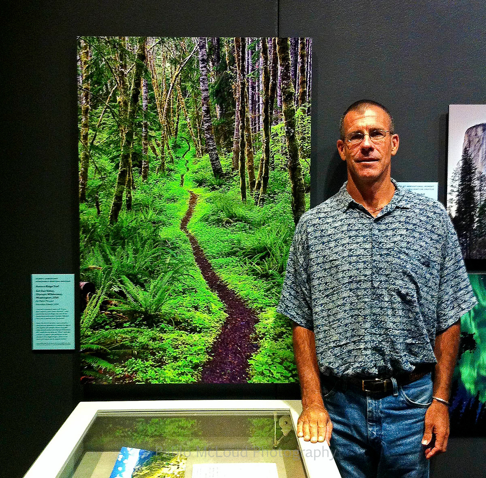 Pablo's Photo ONWARD Displayed at Smithsonian Museum of Natural History.  Yippee