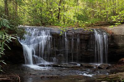 Upper Wildcat Branch Falls, Greenville, SC