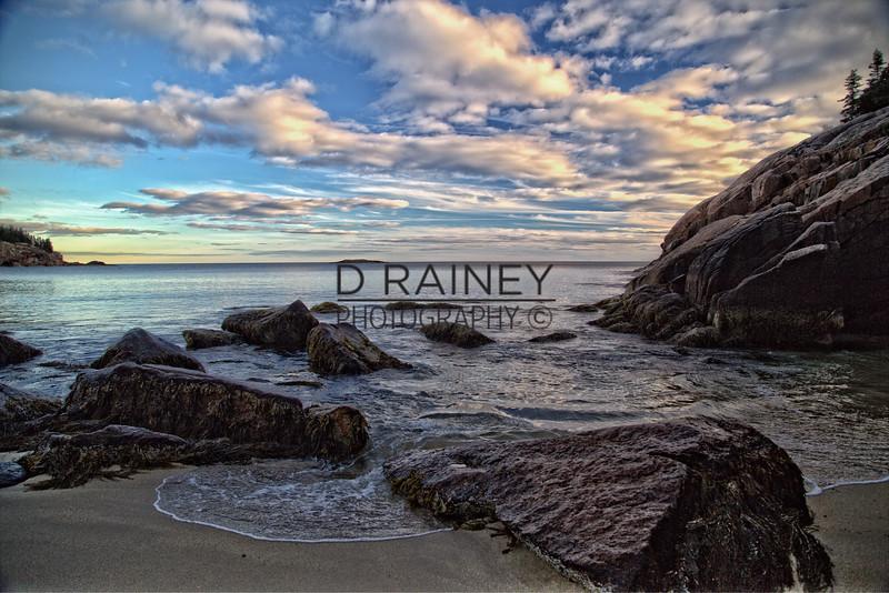 Sandy Beach Maine