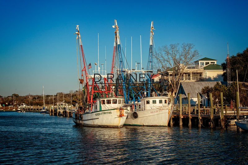 Shem Creek, Charleston SC