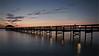 Enjoying the last remnants of sunset.
