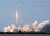 Launch of the SpaceX Falcon 9 rocket.