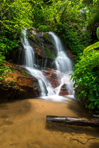 A Beautiful Waterfall in Magoebaskloof, South Africa