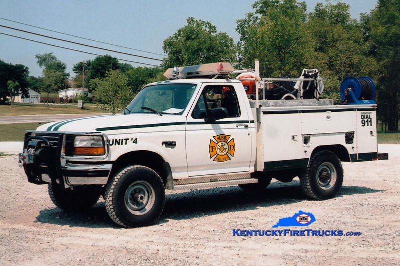 <center> Susie  Brush 4 <br> 1996 Ford F-350 4x4/Knapheide 250/250 <br> Greg Stapleton photo </center>