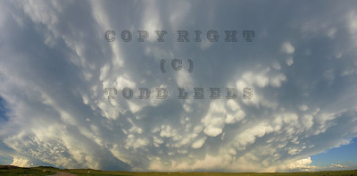 Wyoming Storm Panorama