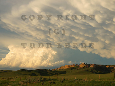 Mammatus and Thuderhead, Powder River basin, Wyoming