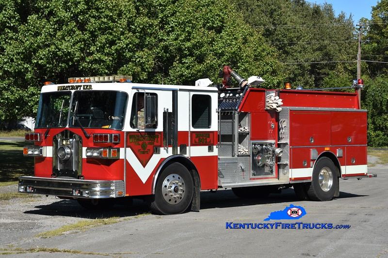 Wheatcroft Engine 201<br /> x-LaVista, NE<br /> 1992 Sutphen 2000/1000<br /> Greg Stapleton photo