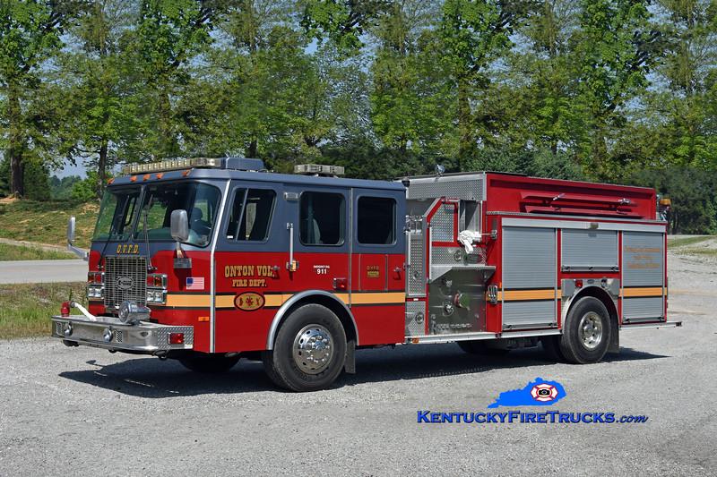 Onton  Engine 2<br /> x-Deltona, FL<br /> 1999 E-One Cyclone II 1250/1250<br /> Kent Parrish photo
