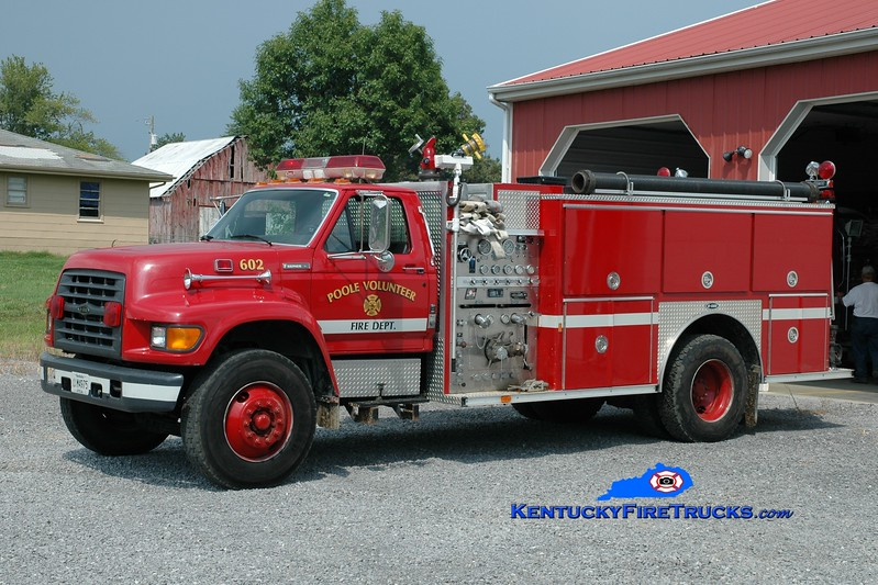 <center> Poole Engine 602 <br> 1996 Ford F-800/E-One 1250/1000 <br> Greg Stapleton photo </center>