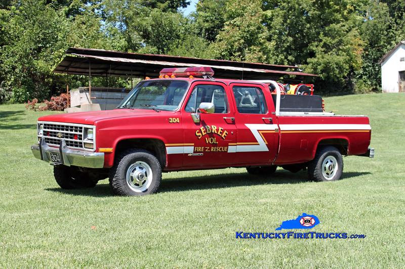 <center> Sebree  Brush 304 <br> 1989 Chevy 3500 4x4 250/250 <br> Kent Parrish photo </center>