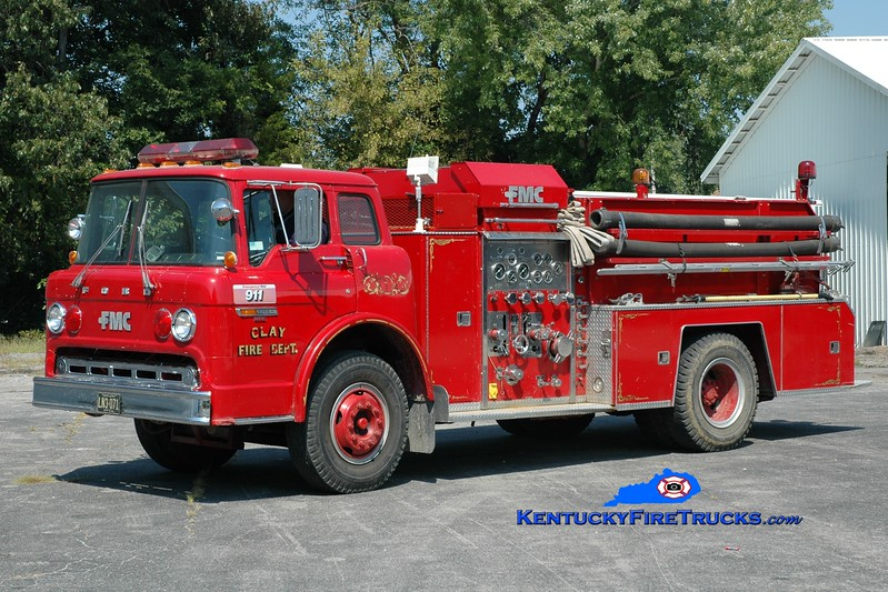 <center> Clay  Engine 502  <br> 1982 Ford C-800/FMC 750/750 <br> Greg Stapleton photo </center>
