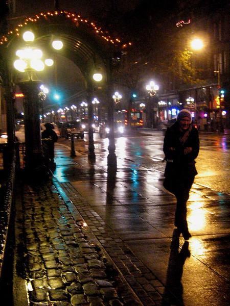 Pioneer Square winter