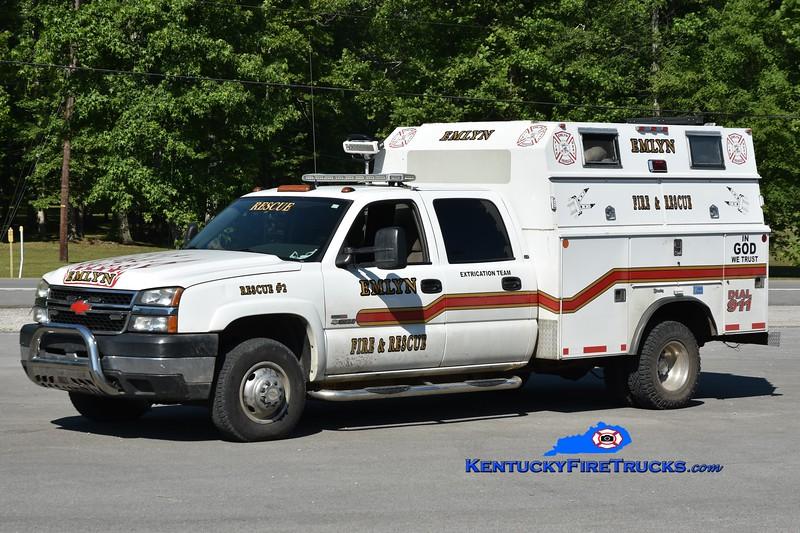 Emlyn Rescue 2<br /> 2006 Chevy 3500 4x4/General Truck Body 80/120<br /> Greg Stapleton photo
