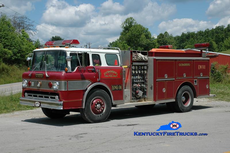 <center> Goldbug Engine 91 <br> 1984 Ford C-8000/3D 1250/500 <br> Greg Stapleton photo </center>