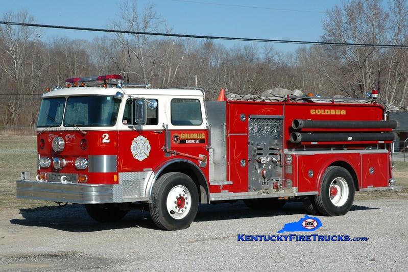 <center> Goldbug Engine 92 <br> x-West Chester, PA; Hurricane Creek, KY <br> 1975 Hahn 1250/1000 <br> Greg Stapleton photo </center>