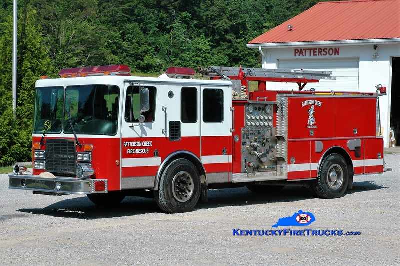 Patterson Creek  Engine 1<br /> x-Fayetteville, NC<br /> 1993 HME/Boardman 1250/750<br /> Greg Stapleton