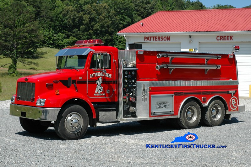 <center> Patterson Creek  Tanker 1 <br> 2003 Peterbilt/Wynn 500/3000 <br> Greg Stapleton photo </center>
