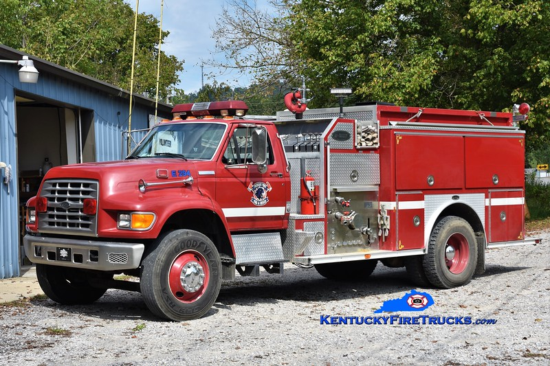 Pleasantview  Engine 294<br /> 1995 Ford F-800/E-One 1250/1000<br /> Greg Stapleton photo