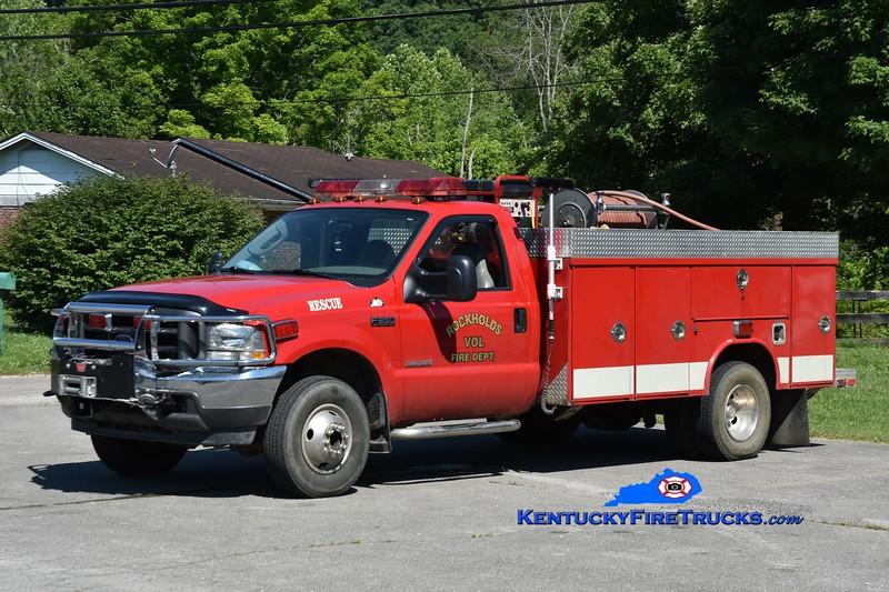 Rockholds Rescue 3<br /> 2003 Ford F-350 4x4/Knapheide/Wynn 250/200<br /> Greg Stapleton photo