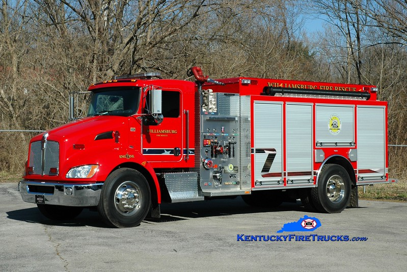 <center> Williamsburg  Engine 6 <br> 2012 Kenworth T-300/Southeast 1500/1000 <br> Greg Stapleton photo </center>