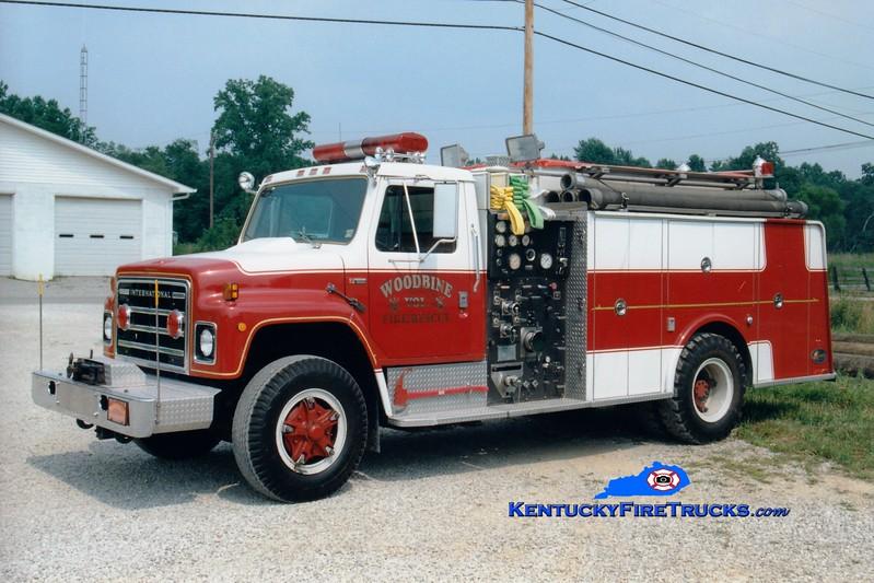 <center> Woodbine  Engine 8854 <br> x-Leesport, PA <br> 1979 International/Hamerly 1000/1000 <br> Greg Stapleton photo </center>