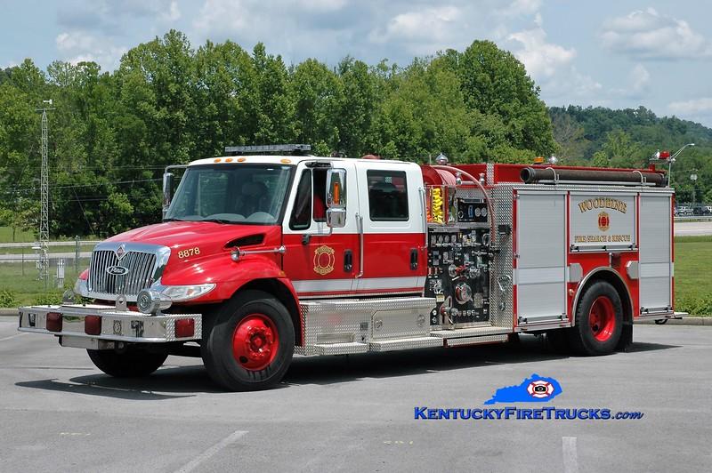 Woodbine  Engine 8878<br /> x-Nashville, TN<br /> 2004 International 4400/Pierce 1500/1000<br /> Greg Stapleton photo