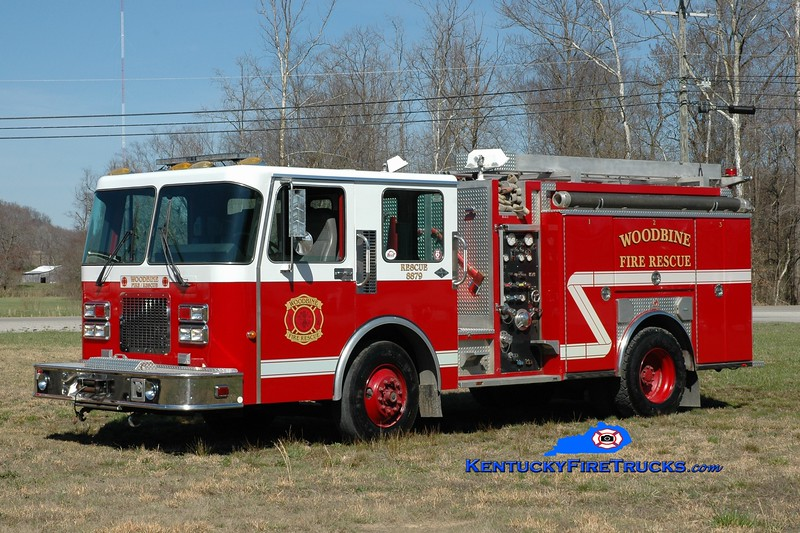 Woodbine  Rescue 8879<br /> x-Monroe Twp, OH<br /> 1995 Spartan/Ferrara 450/400<br /> Greg Stapleton photo