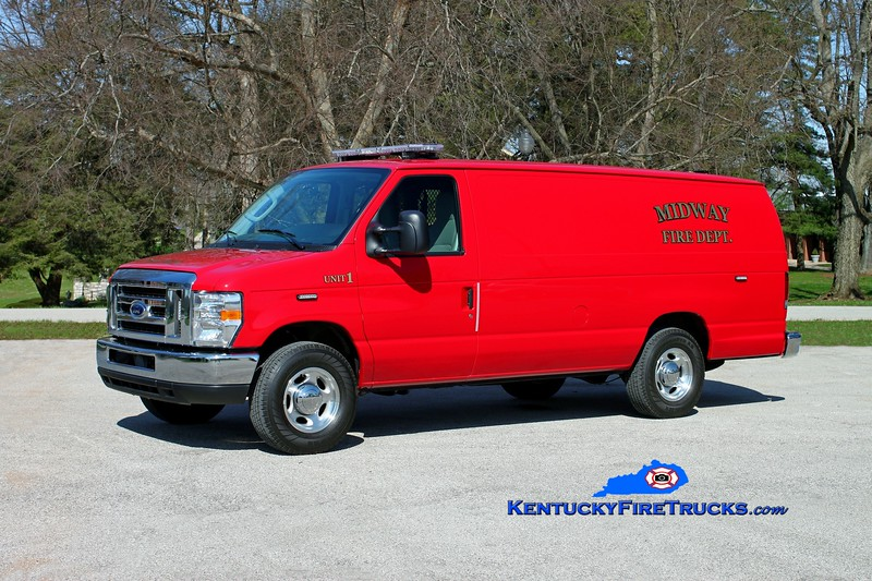 <center> Midway  Unit 1 <br> 2012 Ford E-350 <br> Kent Parrish photo </center>