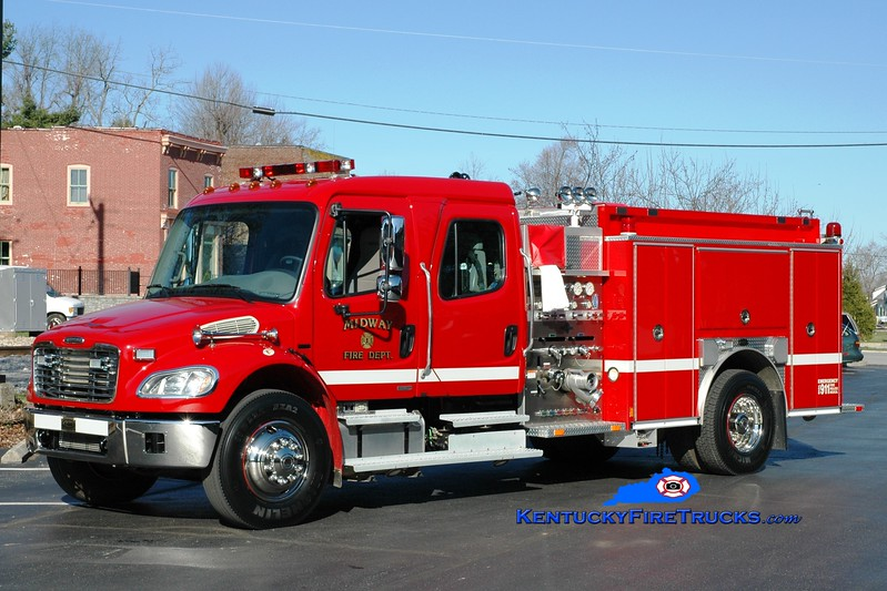 <center> Midway  Engine 1 <br> *Reassigned as Engine 2 <br> 2004 Freightliner M2-106/E-One 1250/1000 <br> Greg Stapleton photo </center>