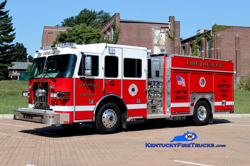 <center> Versailles  Engine 1 <br> 2011 Sutphen Shield 1500/1000/30 <br> Kent Parrish photo </center>