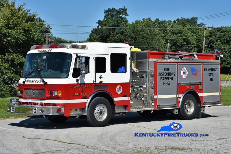 Versailles  Rescue 1 <br /> x-Engine 2 <br /> 2004 American LaFrance Metropolitan 1500/750 <br /> Kent Parrish photo