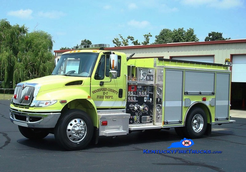 <center> Woodford County  Engine 7 <br> 2008 International 4400/Pierce 1250/1000 <br> Greg Stapleton photo </center>