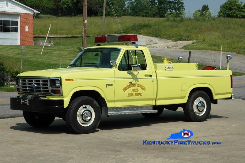 <center> Woodford County  Brush 26 <br> 1983 Ford F-250 4x4 250/250 <br> Greg Stapleton photo </center>