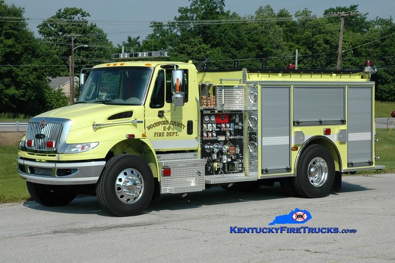 <center> Woodford County  Engine 6 <br> 2013 International 4400/Pierce 1250/1000 <br> Greg Stapleton photo </center>