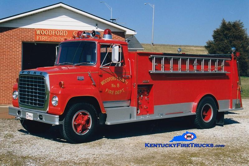 <center> RETIRED <br> Woodford County  Engine 8 <br> 1970 Ford LN750/Darley 450/1800 <br> Greg Stapleton photo </center>