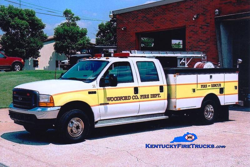 <center> Woodford County  Brush 21 <br> 2001 Ford F-350 4x4/Stahl 250/250 <br> Greg Stapleton photo </center>