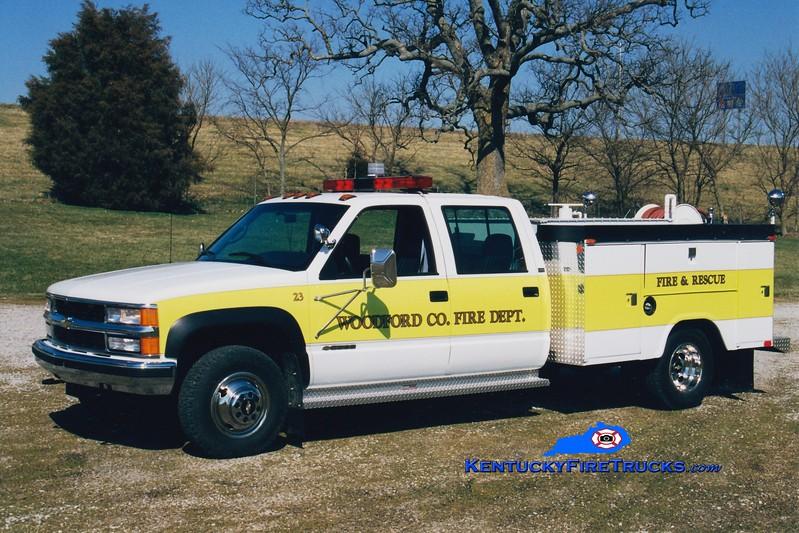 <center> Woodford County  Brush 23 <br> 1998 Chevy 3500 4x4/Stahl 250/250 <br> Greg Stapleton photo </center>