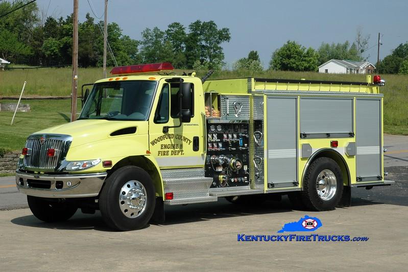 <center> Woodford County  Engine 5 <br> 2003 International 4400/Pierce 1250/1000 <br> Greg Stapleton photo </center>