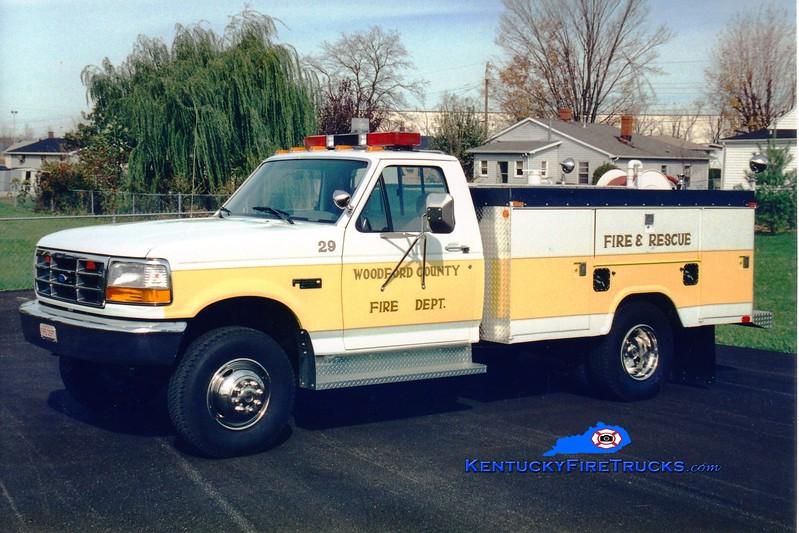 <center> Woodford County  Brush 29 <br> 1995 Ford F-350 4x4/Stahl 250/250 <br> Greg Stapleton photo </center>