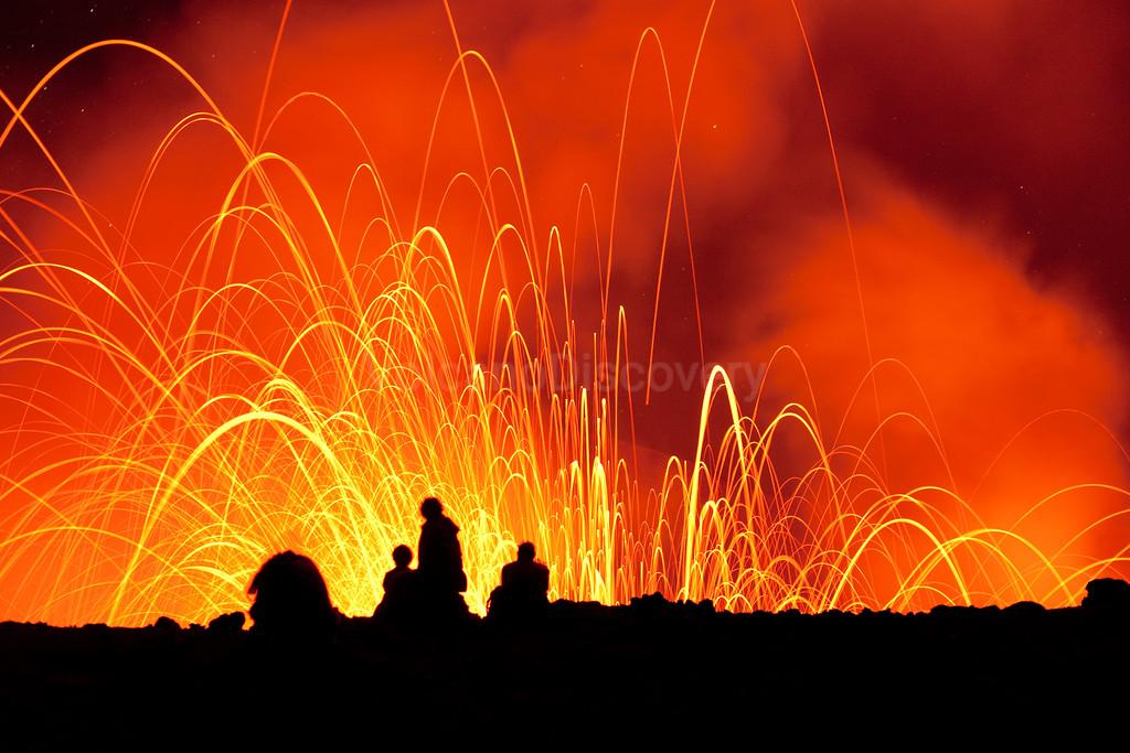 Volcano watchers