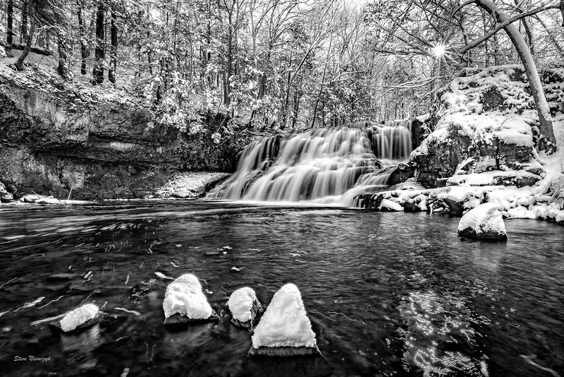 Winter Waterfall