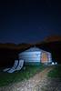 Starry yurt