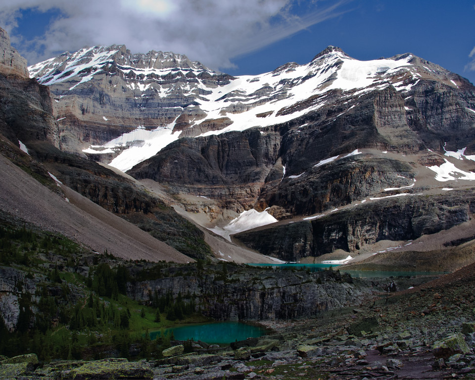 Lake Oesa and Mt. Lefroy