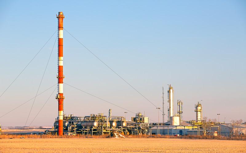 Mazeppa Gas Plant