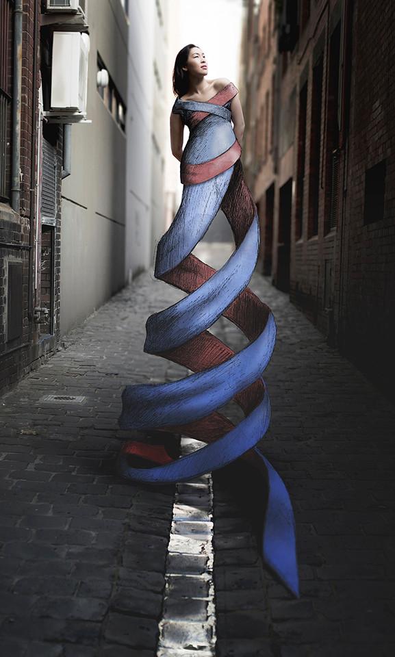 3. Twirled Ribbom