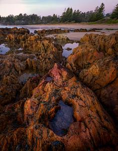 Rocks and Surf Beach