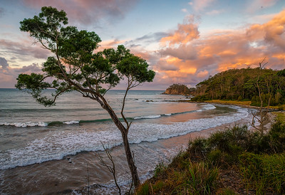 Wimbie Beach from the bluff
